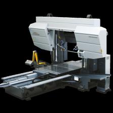Двухколонный ленточнопильный станок с подвижным столом 1200×1600 Golem фото