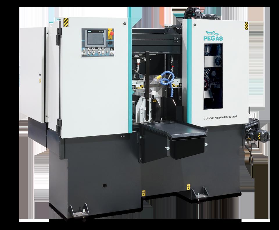 Двухколонный ленточнопильный станок для резки под прямым углом 300×300 Herkules X-CNC фото