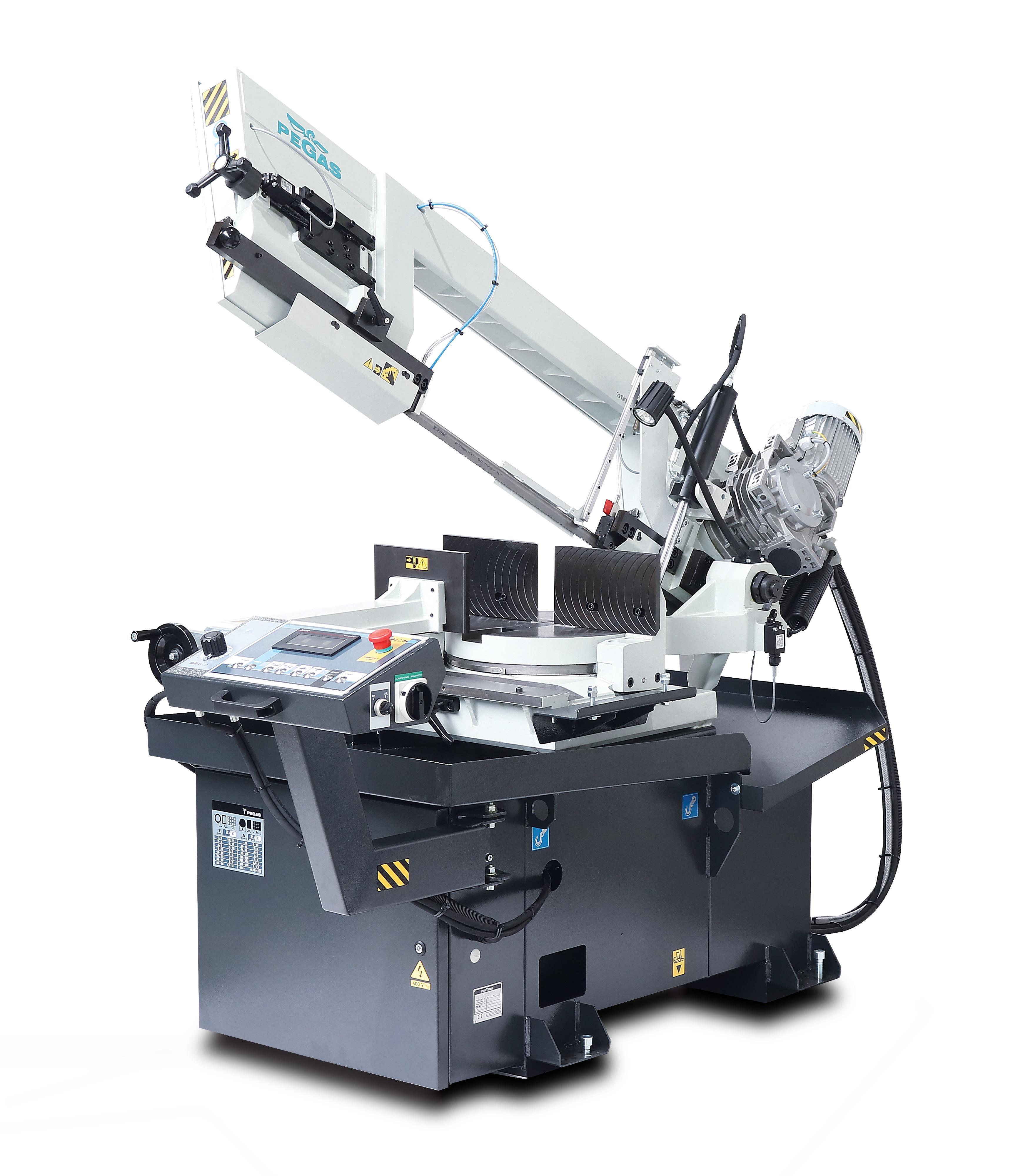 Полуавтоматический ленточнопильный станок 300×320 SHI-LR, консольный фото