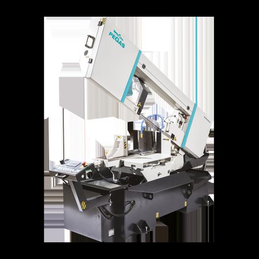Полуавтоматический ленточнопильный станок 460×600 SHI-LR (2 поколение), консольный фото