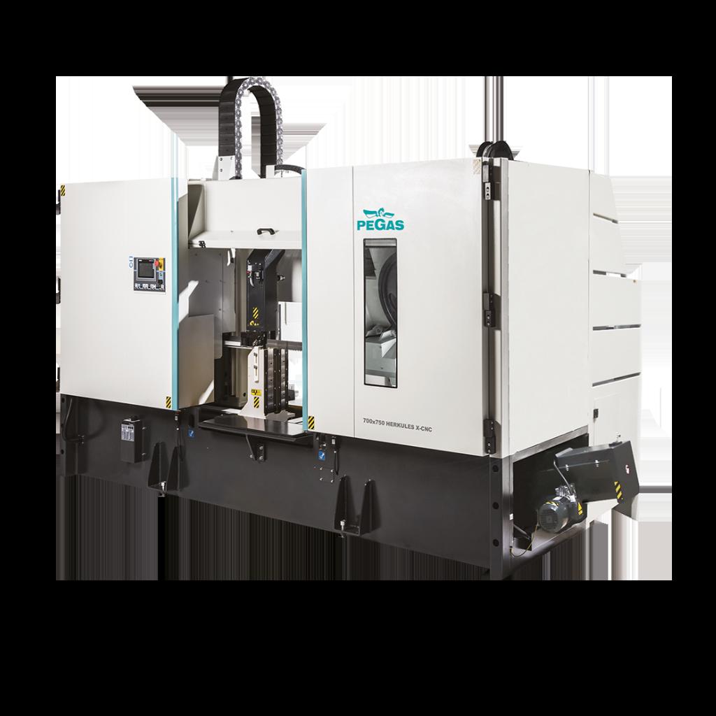 Двухколонный ленточнопильный станок для резки под прямым углом 700×750 Herkules S X-CNC фото